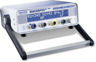BIA-Messung mit Biacorpus RX 4000 - MEDI CAL HealthCare GmbH